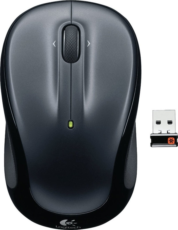 Мышь Logitech M325 Wireless Mouse Dark Silver (эконом упаковка)
