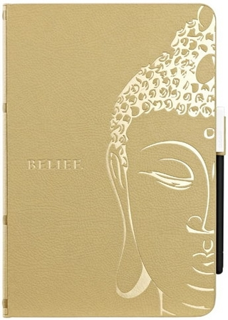 Ozaki O!coat Wisdom Buddhist Scripture Light Brown for iPad mini 3/iPad mini 2/iPad mini (OC103SL)