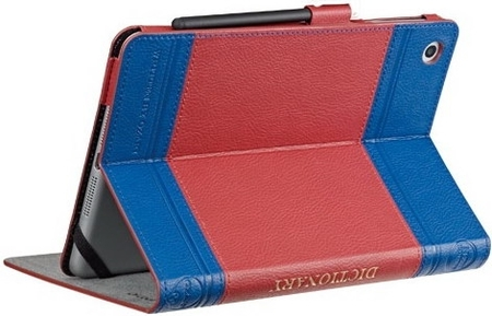 Ozaki O!coat Wisdom Dictionary Blue/Red/Blue for iPad mini 3/iPad mini 2/iPad mini (OC103DB)