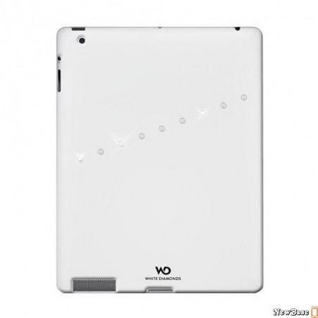 White Diamonds Sash White for iPad 4/iPad 3/iPad 2 (1150SAS47)