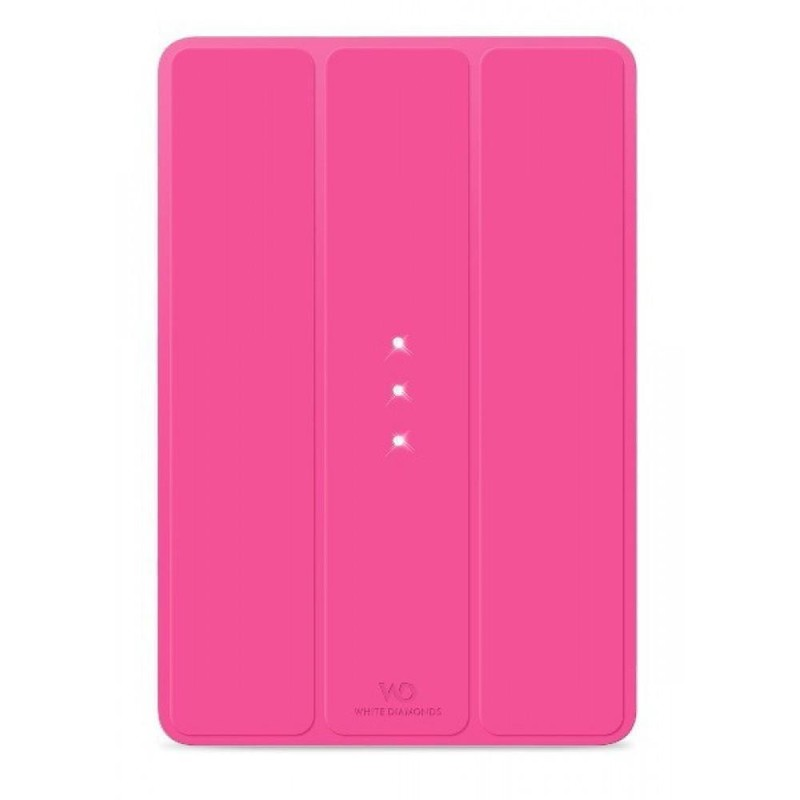 White Diamonds Booklet Pink for iPad Air (1161TRI41)