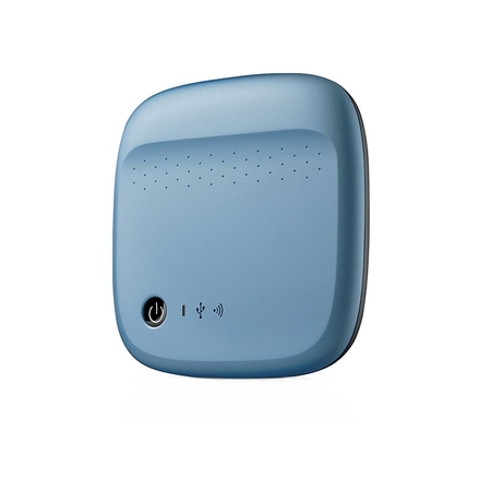 Жесткий диск Seagate Wireless Mobile Portable Hard Drive Storage 500GB STDC500400 Blue