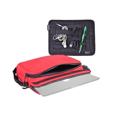 Cocoon Nylon Laptop 13.3 Red CLS456RD