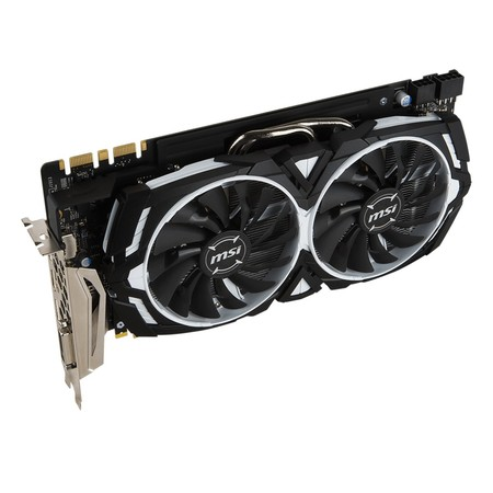 Видеокарта MSI GeForce GTX 1080 ARMOR 8G OC