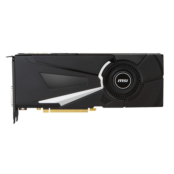Видеокарта MSI GeForce GTX 1070 AERO 8G OC