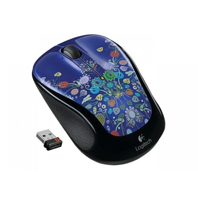 Мышь Logitech M325 Wireless Mouse Nature Jewelry (эконом упаковка)
