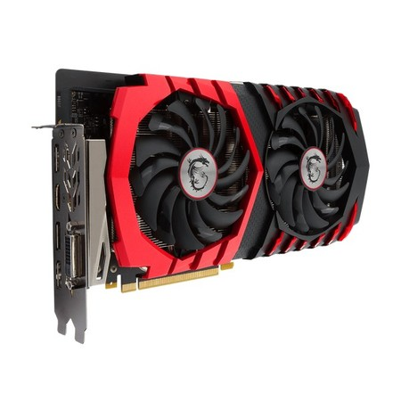 Видеокарта MSI GeForce GTX 1060 GAMING X 6G