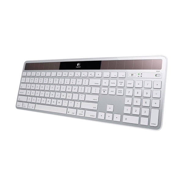 Клавиатура Logitech Wireless Solar Keyboard K750 White Original Factory RB