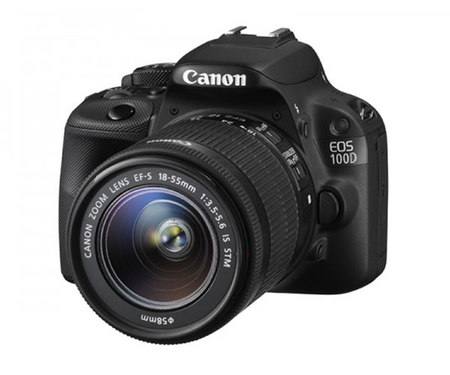 Зеркальный фотоаппарат Canon EOS 100D kit (18-55 mm) EF-S IS STM