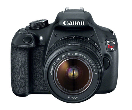 Зеркальный фотоаппарат Canon EOS 1200D kit (18-55 mm) EF-S IS II (Rebel T5)