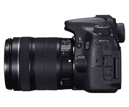 Зеркальный фотоаппарат Canon EOS 70D kit (17-85 mm) EF-S IS