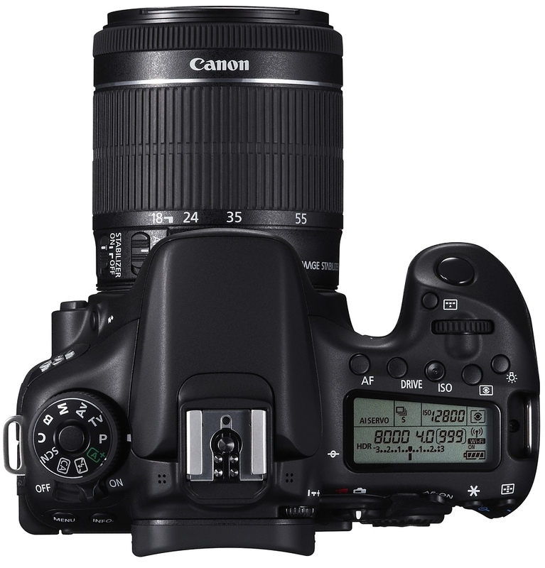 Зеркальный фотоаппарат Canon EOS 70D kit (18-55 mm) EF-S IS STM