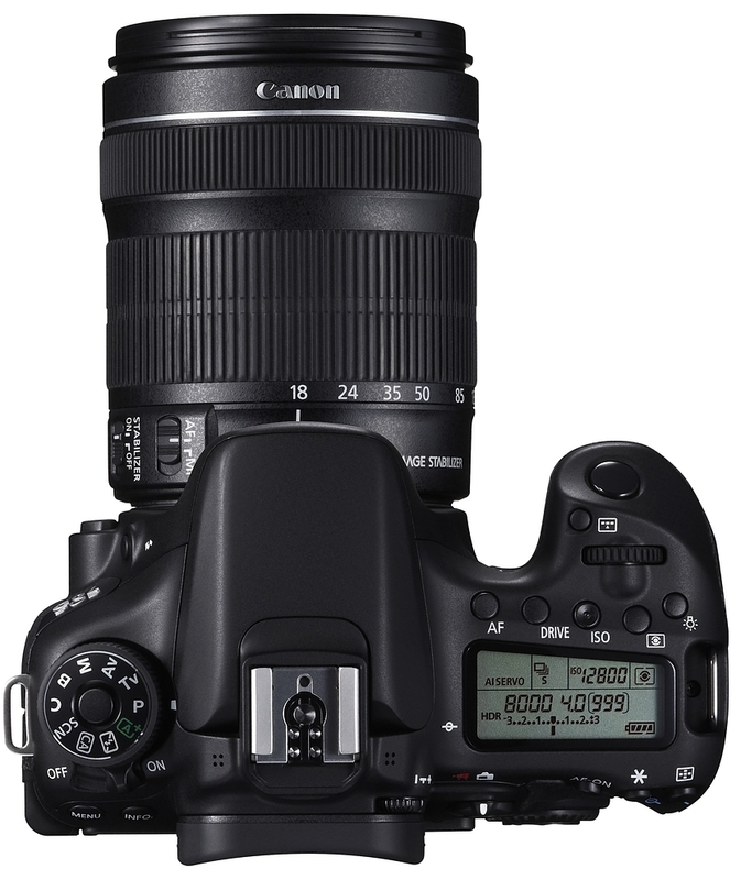 Зеркальный фотоаппарат Canon EOS 70D kit (18-135 mm) EF-S IS STM