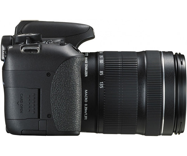 Зеркальный фотоаппарат Canon EOS 750D kit (18-135 mm) EF-S IS STM