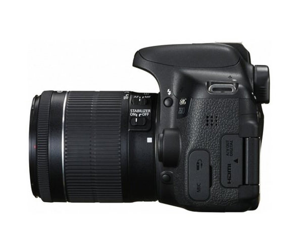 Зеркальный фотоаппарат Canon EOS 750D kit (18-55 mm) EF-S IS STM