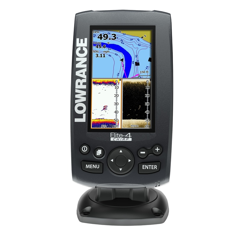 Эхолот Lowrance Elite-4 CHIRP
