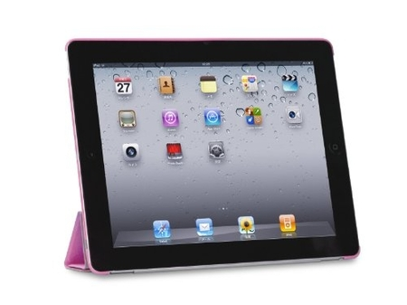 Tunewear Eggshell fits Smart Cover Pink for iPad 2 (IPAD2-EGG-SHELL-SC04)
