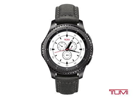 Смарт-часы Samsung RM-760 Gear S3 Frontier TUMI Special Edition (SM-R760NDAMXAR)