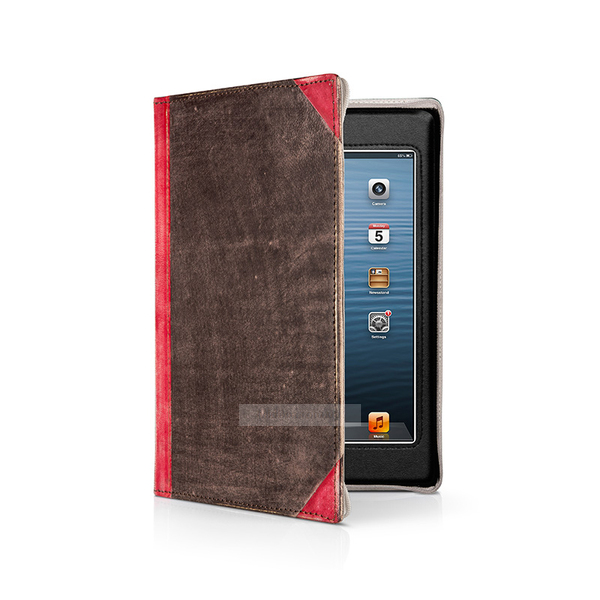 Twelvesouth Leather Case BookBook Vibrant Red for iPad mini 3/iPad mini 2/iPad mini (TWS-12-1236)
