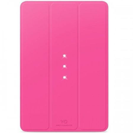 White Diamonds Crystal Air Booklet Pink for iPad mini 4 (6031TYT41)