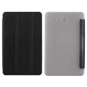 "Goospery Soft Mercury Smart Cover Samsung T560 Galaxy Tab E 9.6"" Black"