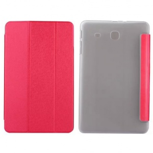 "Goospery Soft Mercury Smart Cover Samsung T560 Galaxy Tab E 9.6"" Red"